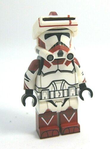 Custom Full Body Printing CAC Lego SGT FOX ROCKET Clone Minifigure