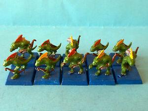 Warhammer-Fantasy-Lizardmen-Skinks-x10-WF215