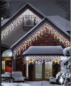 960led White Icicle Chaser Light Outdoor Indoor Christmas