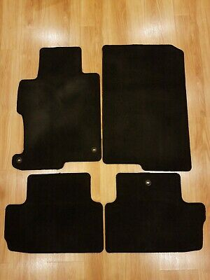Black Coverking Custom Fit Front Floor Mats for Select Saturn Aura Models Nylon Carpet