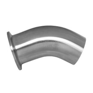 1 1//2 90 deg ElbowTri Clamp 1.5 Sanitary SS304 inch