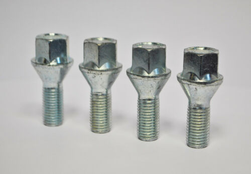 4 x Alloy Wheel Bolts M12 x 1.5 17mm Hex for BMW 3 Series 2005-12