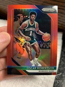 2018-19-Oscar-Robertson-Panini-Prizm-Red-33-299