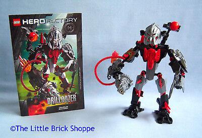 C159 Lego 2192 Hero Factory Villains Drilldozer complet de 2011