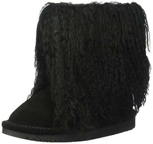 Bearpaw Boo Toddler Fuzzy Boots - 1854t Black - 11 M Us Little Kid