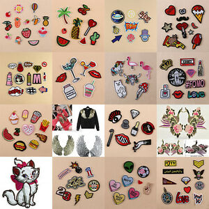 Embroidery-Sew-On-Iron-On-Patch-Badge-Fabric-Bag-Clothes-Applique-Craft-Transfer