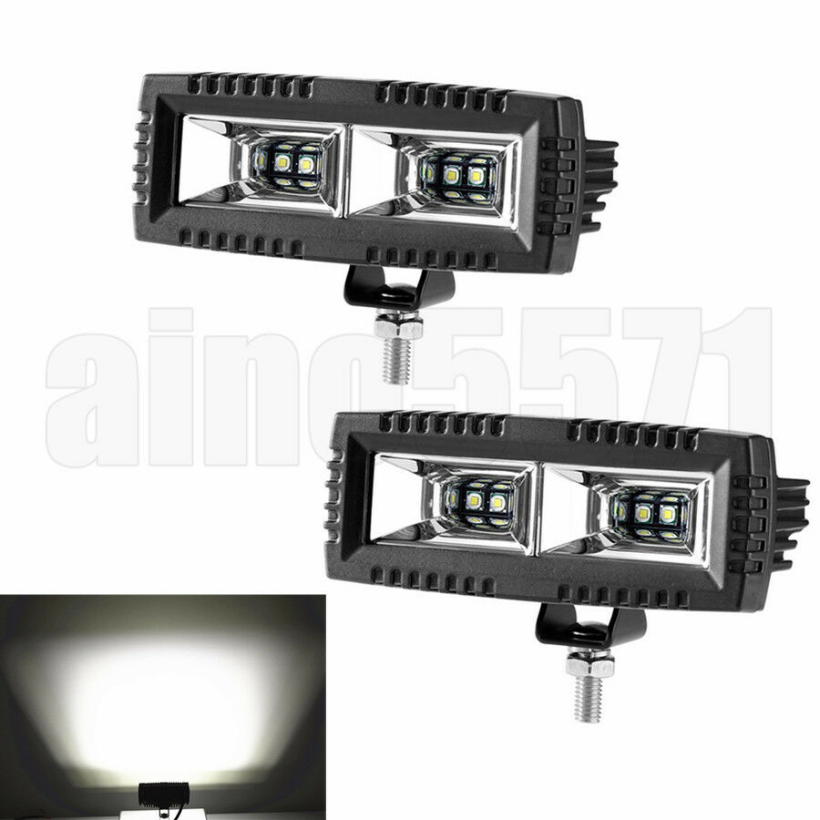Universal 2x 40W LED Offroad Auto Stiefel Zusatzscheinwerfer Flutlicht Nebelleuchte