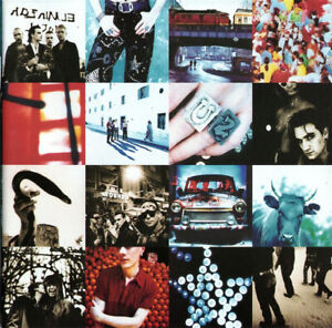U2 - ACHTUNG BABY CD  EXC CONDITION