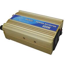 Pure sine wave power inverter 400 Watt 12V DC to AC 220 Volt voltage converter