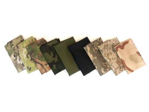 """Choice of Colors 19/"""" x 55/"""" Breathable Mesh Material Tactical Scarf Shemagh"""