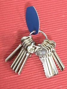6 Pin Depth & Space Key Set. Depths 0-10-Suits Lockwood,Whitc<wbr/>o C4B,LW5-Free Post