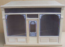 1:12th Dolls House Flat Pack Room Shop Shadow Box Kit With A Removable Front M1