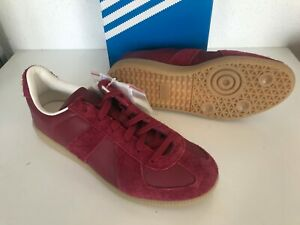 Details about NEW ADIDAS BW ARMY MEN'S SHOES US 9.5 11.5 12 B44640 RED BURGUNDY LEATHER