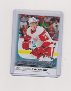 2017-18-EVGENY-SVECHNIKOV-UPPER-DECK-YOUNG-GUNS-ROOKIE-224-NO-2189