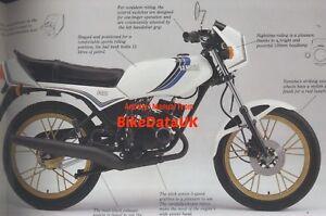NOS-Yamaha-RD-80-MX-1982-1985-Original-Factory-Sales-Brochure-RD80MX-12G-BV53