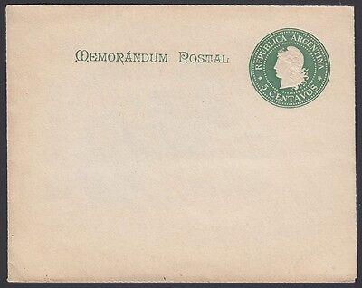 Postfrisch Erfrischend Und Wohltuend FüR Die Augen 1900 Argentinien Brief Blatt H & G Ls87
