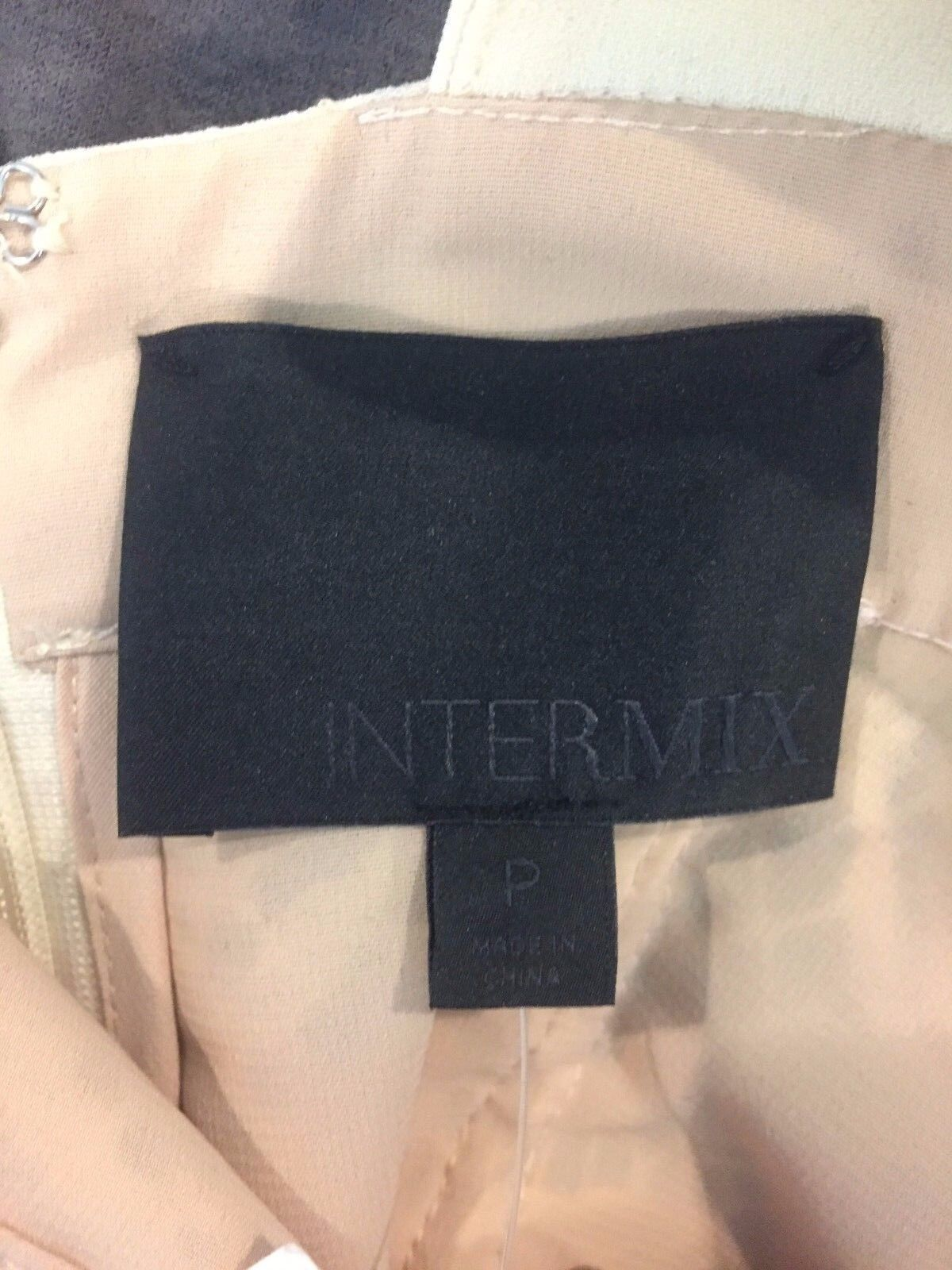 INTERMIX 10317 NWT  450 EXCLUSIVE TO INTERMIX IVORY IVORY IVORY LACE BRIANA DRESS SZ P 3e0460