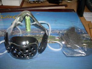 lot de 2 masques de protection transparent avec filtres