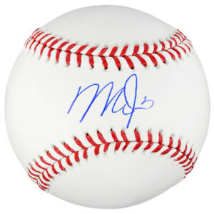 MIKE TROUT Autographed Los Angeles Angels Official Baseball MLB AUTHENTIC