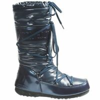 New In Box Authentic Women's Tecnica Soft II Moon Boots Size 7US/38EU Blue