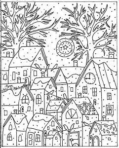 Rug-Hook-Craft-Paper-Pattern-9-PM-Folk-Art-PRIMITIVE-ABSTRACT-Karla-Gerard