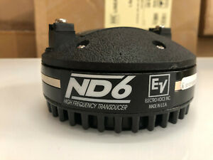 ONE EV//ELECTRO VOICE ND6 16 OHMS HORN HIGH FREQUENCY DRIVER  #6521