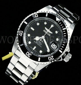 8926ob Invicta Pro Diver Submariner Nh35 Auto 24 Jewel Coin Bord Cadre Sterling Silver Watch-afficher Le Titre D'origine Forme éLéGante