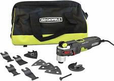 Rockwell Sonicrafter F80 4.2 Amp Oscillating Multi-Tool w/ 9 Accessories & Bag