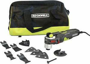 Rockwell-Sonicrafter-4-2-Amp-Oscillating-Multi-Tool-w-9-Accessories-amp-Bag