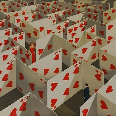 Rafal Olbinski Illusive Specificity Hand Pulled Signed Fine Art Lithograph S2