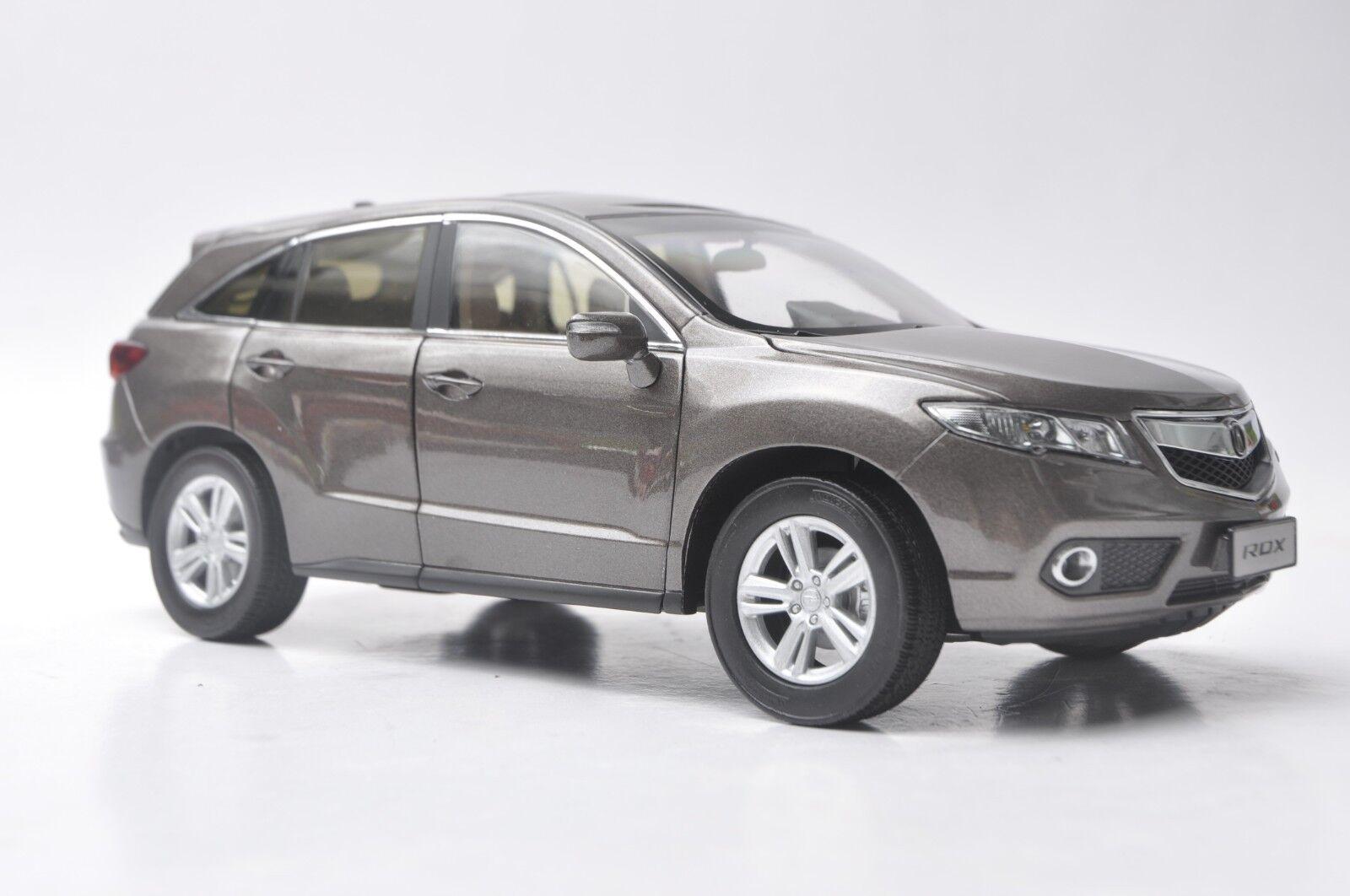 Acura RDX 2013 car model in scale 1 18 Titanium oro
