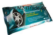 Auto Reinigungstücher für Felgen Alu Alufelgen Solution Stahl Reiniger KFZ