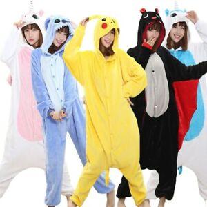Xmas Unisex Kids Adult Kigurumi Animal Onsie1 Anime Cosplay Pyjamas Fancy Dress