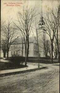 Brooklyn-CT-Unitarian-Church-c1910-Postcard