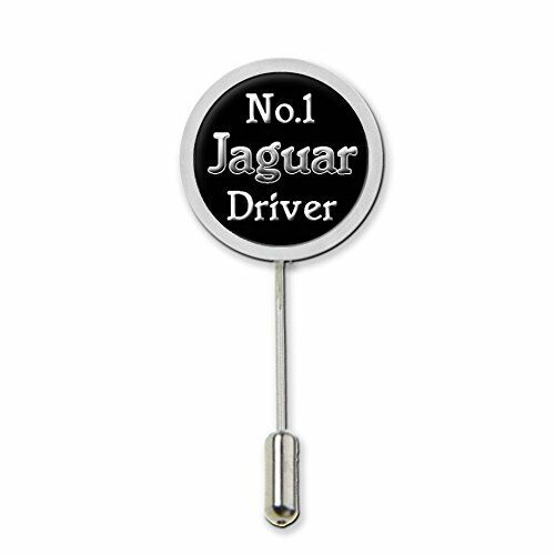 No.1 Jaguar Driver Stick Pin Tie Pin Badge With Protector Birthday Gift C446