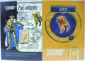 I-CAVALIERI-DELLO-ZODIACO-034-ARIETE-034-n-41-CAVALIERI-ORO-Carte-ufficiali-serie-TV