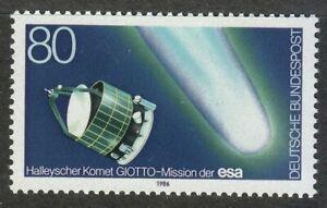 Germany-1986-MNH-Mi-1273-Sc-1456-Halley-s-Comet-Space