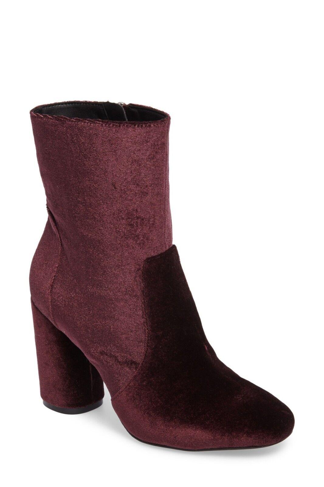 NEW DKNY damen damen damen Karan Alley Stiefelie, CORDOVAN VELVET, damen Größe 5.5 M,  350 5d3c70