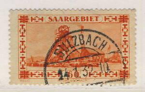 SARRE-SAAR-SAARGEBIET-1933-Yv-140-Mi-143-used-034-SULZBACH-034