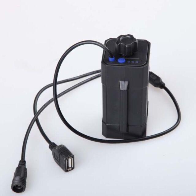 Waterproof 4x18650 Battery Storage Case Box Holder For Bike LED Light Lovely