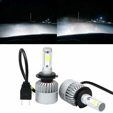 H7 LED Headlight Conversion 80W 8000LM COB 6500K White Light Bulbs Waterproof