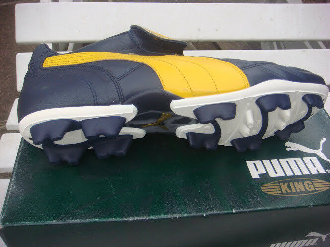 Vintage Puma King Football Stiefel UK 8