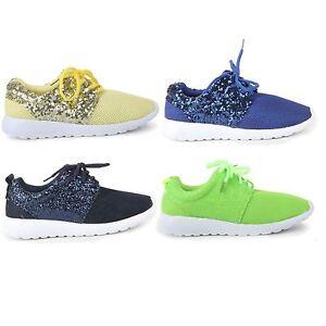 sparkling gym shoes