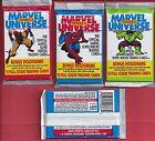 1991 MARVEL UNIVERSE SERIES II  single Wax Pack
