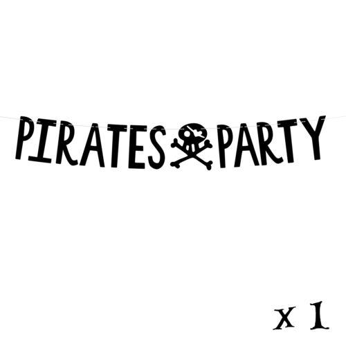 36 commentaires Pirate Fête D/'Anniversaire Décorations Rouge Parti Pirate vaisselle Pack