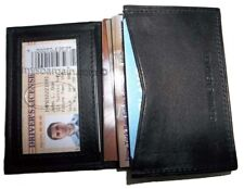 Business Case Leather Card Case Credit Card Holder Mew 30 Card Case Id Window