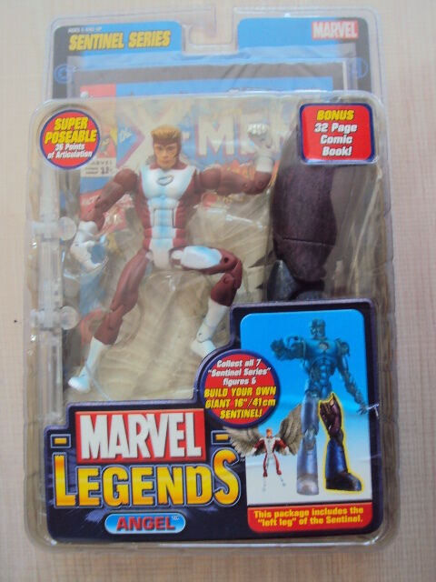 MARVEL LEGENDS SERIES 10  SENTINEL   ANGEL 2005 giocattolo BIZ NEUF X-MEN  autentico