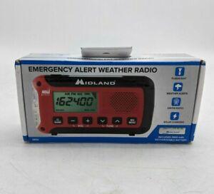 Midland Emergency Alert Weather Radio Multi-Use Red ER50 - SH2344