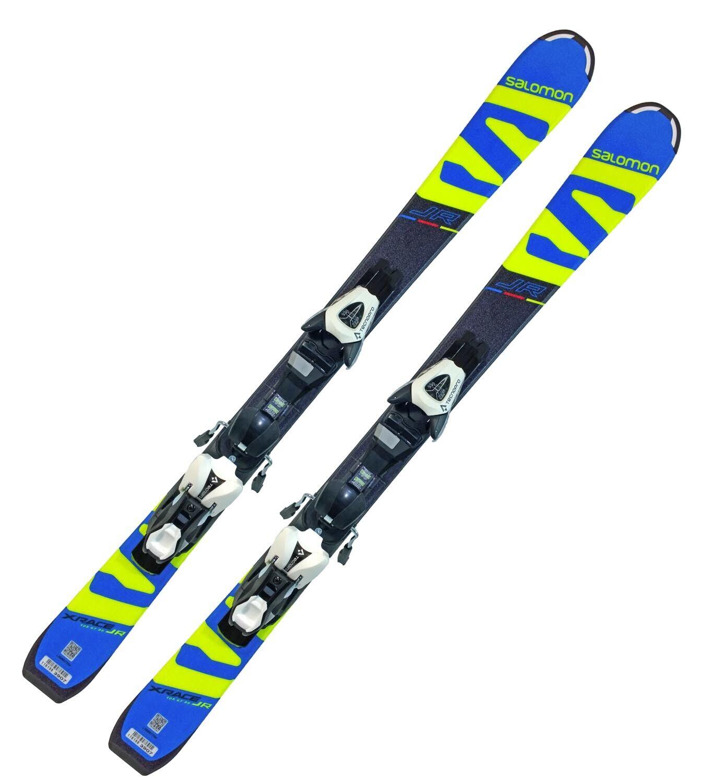 Ski Salomon X-Race JR Junior Carve Rocker + Bindung TL7 Rail Z2,5-7