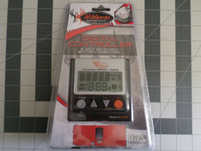 Wildgame Innovations Model TDX Digital Feeder Timer Controller 6V Or 12V